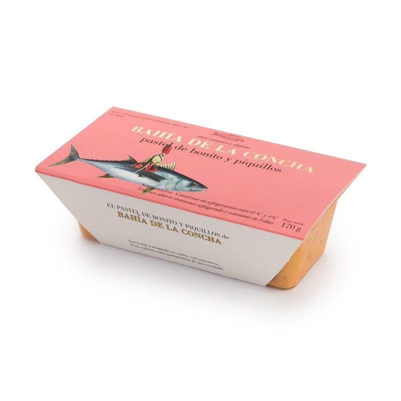 Pastel de Bonito y Piquillos. 170 gr