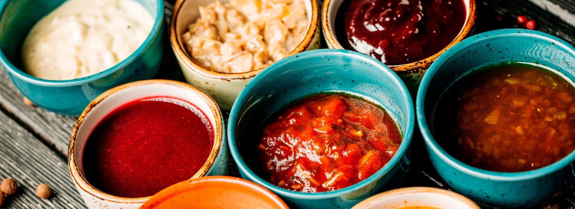 Aceites, salsas y condimentos