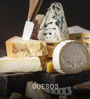 quesos gourmet