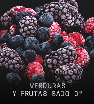 verduras y frutas congeladas gourmet